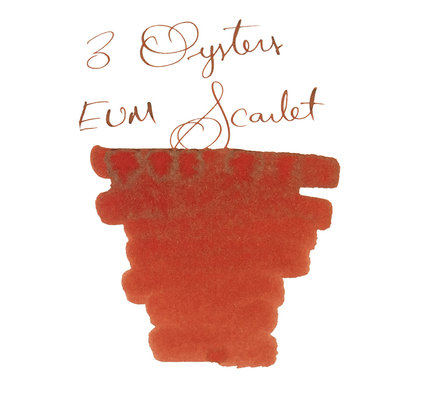 3 Oysters 3 Oysters Hun Min Jeong Eum Scarlet - 18ml Bottled Ink
