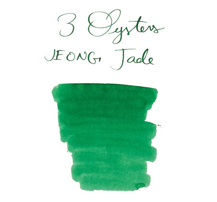 3 Oysters 3 Oysters Hun Min Jeong Eum Jade - 18ml Bottled Ink