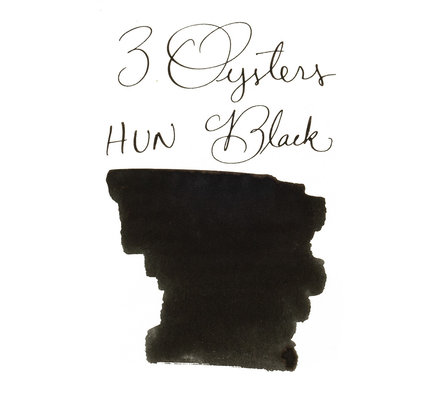 3 Oysters 3 Oysters Hun Min Jeong Eum Black - 18ml Bottled Ink