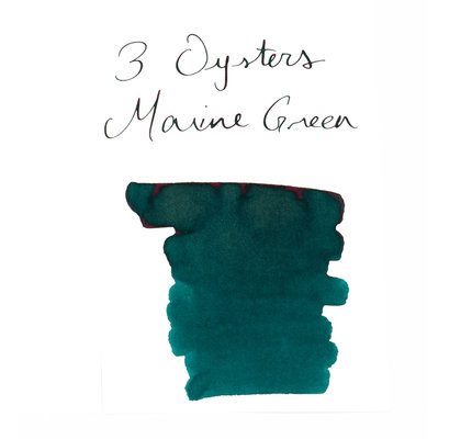 3 Oysters 3 Oysters Delicious Marine Green - 38ml Bottled Ink