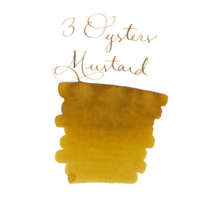 3 Oysters 3 Oysters Delicious Mustard - 38ml Bottled Ink
