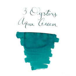 3 Oysters 3 Oysters Delicious Aqua Green - 38ml Bottled Ink