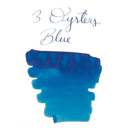 3 Oysters 3 Oysters Delicious Blue - 38ml Bottled Ink