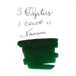 3 Oysters 3 Oysters I-Color-U Namsan Green - 38ml Bottled Ink