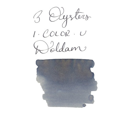 3 Oysters 3 Oysters I-Color-U Doldam Grey - 38ml Bottled Ink