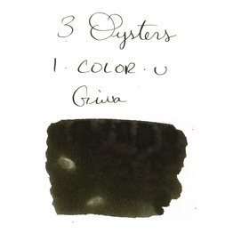 3 Oysters 3 Oysters I-Color-U Giwa Dark Green - 38ml Bottled Ink