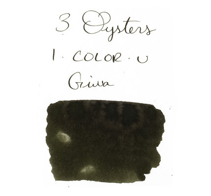 3 Oysters 3 Oysters I-Color-U Giwa Army Green - 38ml Bottled Ink