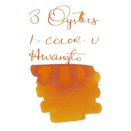 3 Oysters 3 Oysters I-Color-U Hwangto Orange - 38ml Bottled Ink
