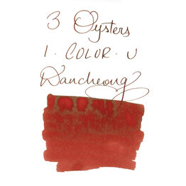 3 Oysters 3 Oysters I-Color-U Dancheong Red - 38ml Bottled Ink