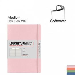 Leuchtturm1917 Leuchtturm1917 Muted Softcover Notebook Medium (A5)