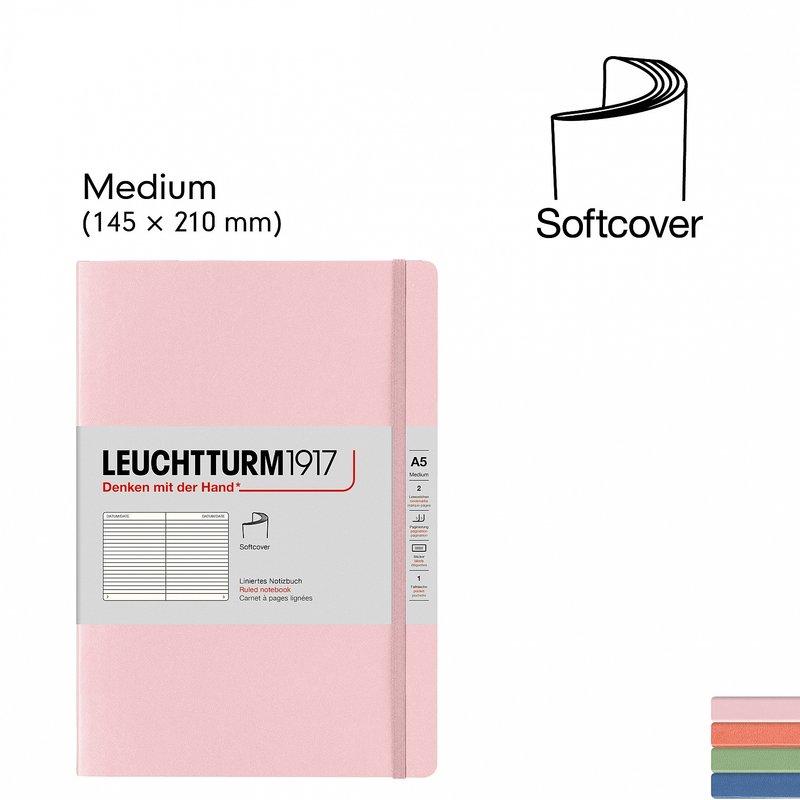 Leuchtturm1917 Leuchtturm1917 Muted Softcover Notebook Medium (A5)