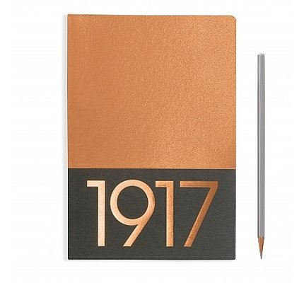 Leuchtturm1917 Leuchtturm1917 Medium Jottbook Copper Ruled (Pack of 2)