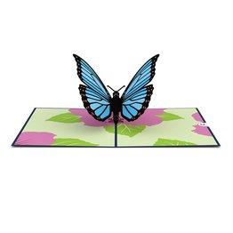 Lovepop Lovepop Blue Morpho Butterfly 3D Card