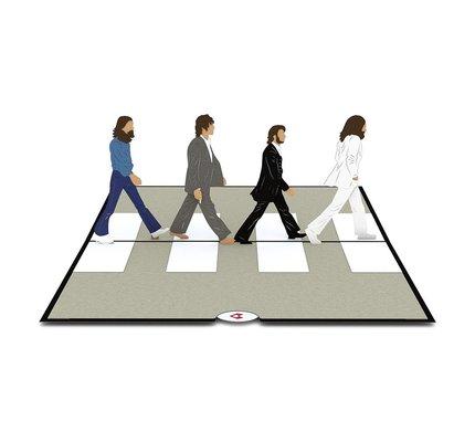 Lovepop Lovepop The Beatles Abbey Road 3D Card