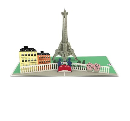 Lovepop Lovepop Paris Love Scene 3D Card