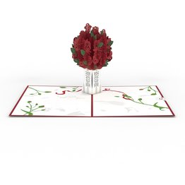 Lovepop Lovepop Rose Bouquet Red 3D Card