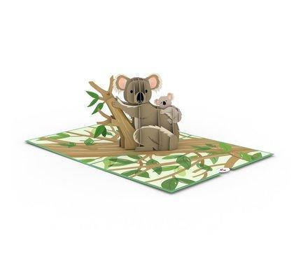 Lovepop Lovepop Koala Family 3D Card