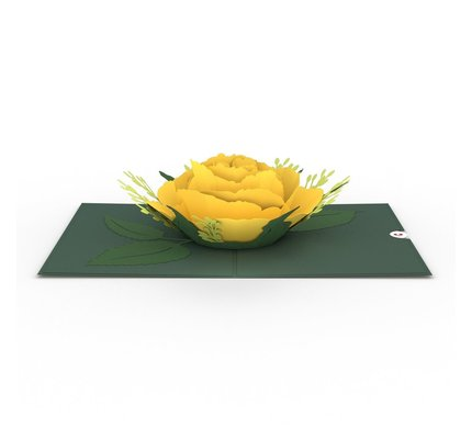 Lovepop Lovepop Yellow Rose Bloom 3D Card