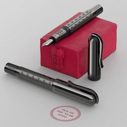 Faber-Castell Graf von Faber-Castell 2020 Pen of the Year Sparta Black Edition Fountain Pen Fine