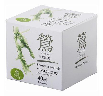 Taccia Taccia Uguisu Olive Green - 40ml Bottled Ink