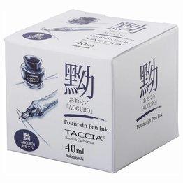 Taccia Taccia Aoguro Blue-Black - 40ml Bottled Ink