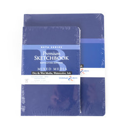 "Stillman & Birn Stillman & Birn Beta Series Softcover Sketchbook, 8"" x 10"""