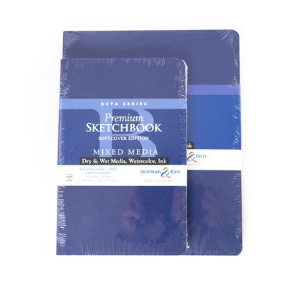 "Stillman & Birn Stillman & Birn Beta Series Softcover Sketchbook, 5.5"" x 8.5"""