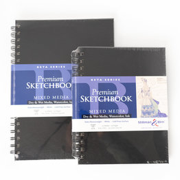 "Stillman & Birn Stillman & Birn Beta Series Trio Wirebound Sketchbook, 7"" x 10"""