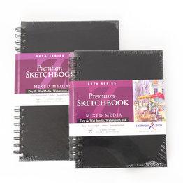 """Stillman & Birn Stillman & Birn Zeta Series Trio Wirebound Sketchbook, 7"""" x 10"""""""