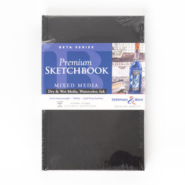 "Stillman & Birn Stillman & Birn Beta Series Hardbound Sketchbook, 5.5"" x 8.5"""