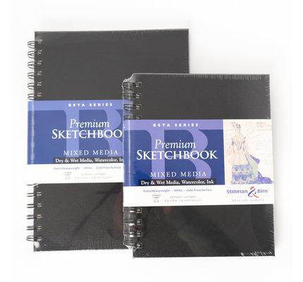 """Stillman & Birn Stillman & Birn Zeta Series Wirebound Sketchbook, 6"""" x 8"""""""