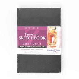 """Stillman & Birn Stillman & Birn Zeta Series Hardbound Sketchbook, 5.5"""" x 8.5"""""""