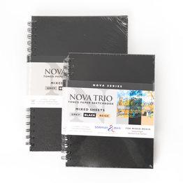 """Stillman & Birn Stillman & Birn Nova Series Trio Wirebound Sketchbook, 7"""" x 10"""""""