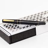 Maiora Maiora Impronte Black Matte Slim Fountain Pen