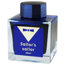 Sailor Sailor Studio Limited Edition Osamu Ishimaru Ocean Blue Bottled Ink