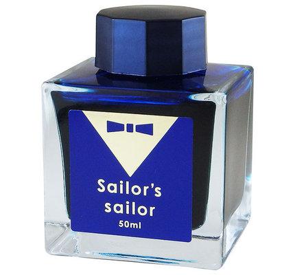 Sailor Sailor Studio Limited Edition Osamu Ishimaru Ocean Blue Bottled Ink AVAILABLE JUNE