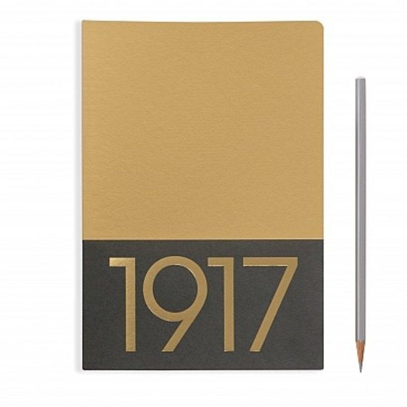 Leuchtturm1917 Leuchtturm1917 Medium Jottbook Gold Ruled (Pack of 2)