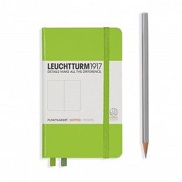 Leuchtturm1917 Leuchtturm1917 Pocket Hardcover Notebook (A6) Lime Dotted
