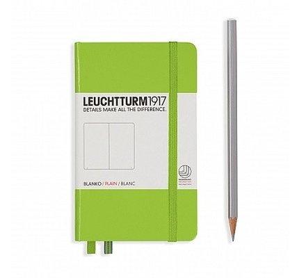 Leuchtturm1917 Leuchtturm1917 Pocket Hardcover Notebook (A6) Lime Plain