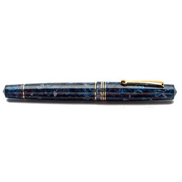 Leonardo Leonardo Momento Zero Fountain Pen Blue Sorrento Gold