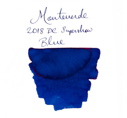 Monteverde Monteverde 2018 DC Supershow Blue 30 ml Bottled Ink
