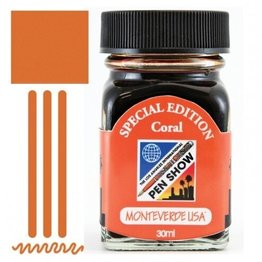 Monteverde Monteverde LA Pen Show Coral - 30ml Core Bottled Ink