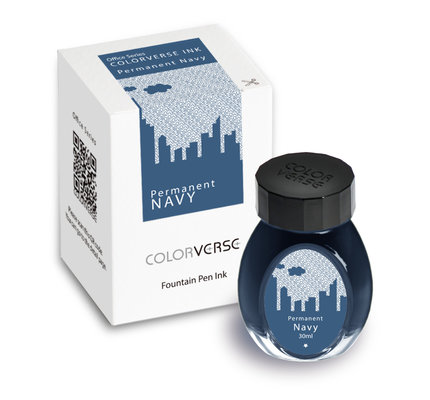Colorverse Colorverse Office Series Permanent Navy - 30ml Bottled Ink