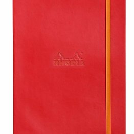 Rhodia Rhodia Rhodiarama Softcover Notebook (Composition) Poppy Doted