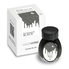 Colorverse Colorverse Office Series Permanent Black - 30ml