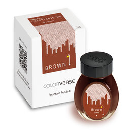 Colorverse Colorverse Office Series Brown - 30ml Bottled Ink