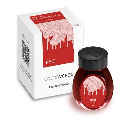 Colorverse Colorverse Office Series Red - 30ml Bottled Ink