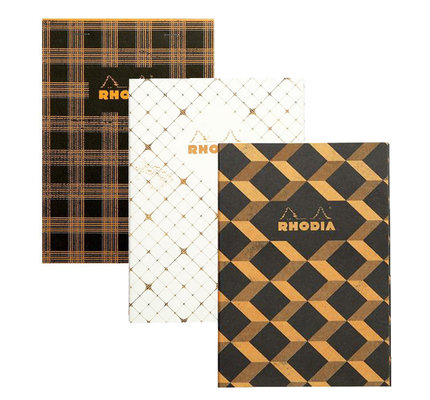 Rhodia Rhodia Heritage A5 Sewn Spine Notebook - 7.5 x 9.8 in