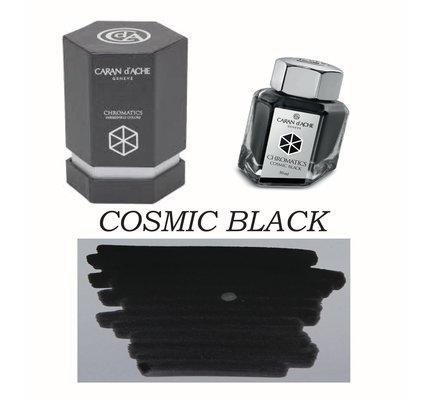 Caran D' Ache Caran d'Ache Cosmic Black -  50ml Bottled Ink
