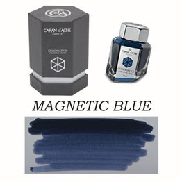 Caran D' Ache Caran D' Ache Magnetic Blue -  50ml Bottled Ink